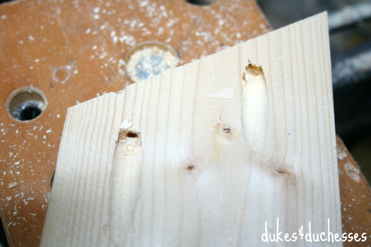 pocket holes