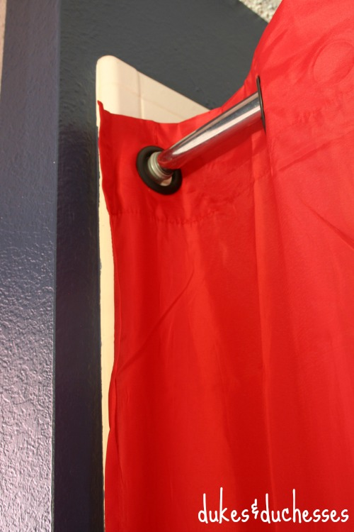 shower curtain for bathroom makeover