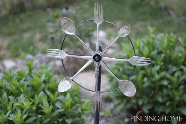 silverware whirligig