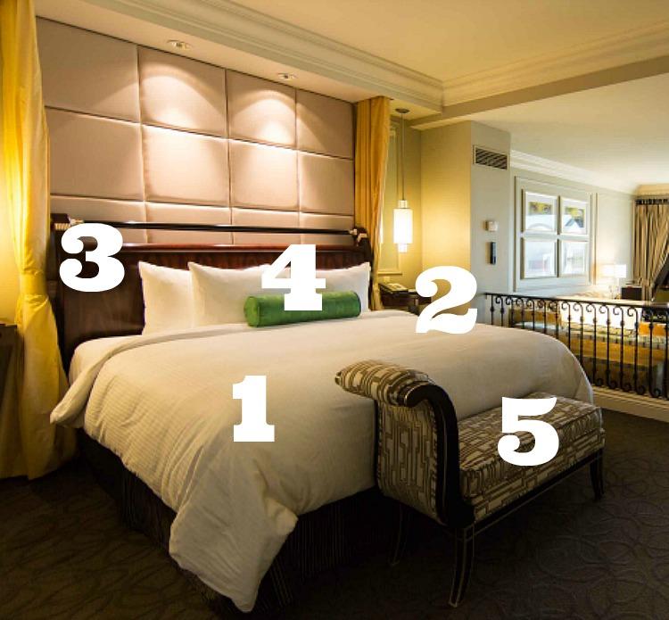 venetian luxury suite