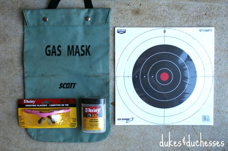 BB gun supply bag