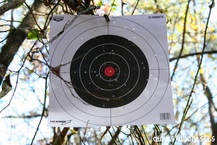 finished target