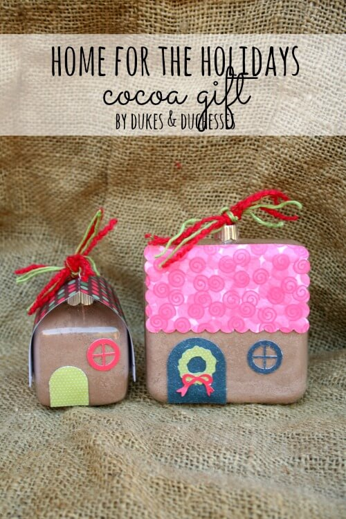 home for the holidays cocoa gift title