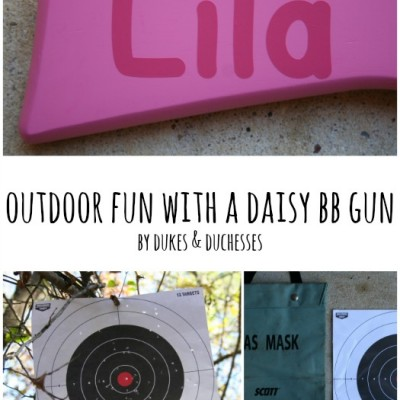 Outdoor Fun with a Daisy BB Gun