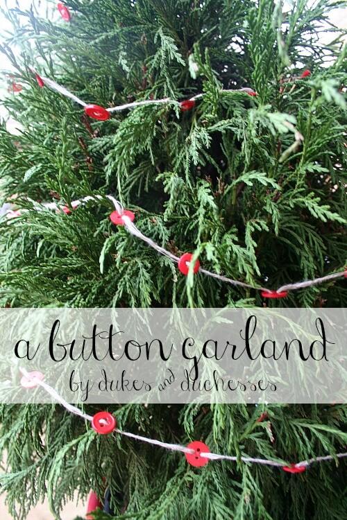 a button garland
