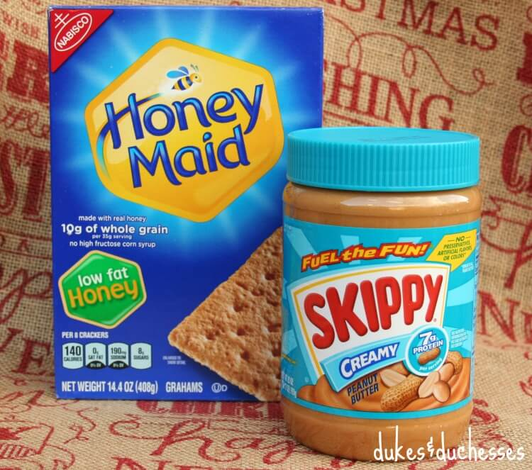 honey maid and skippy peanut butter