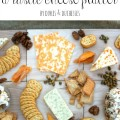 how to create a rustic cheese platter