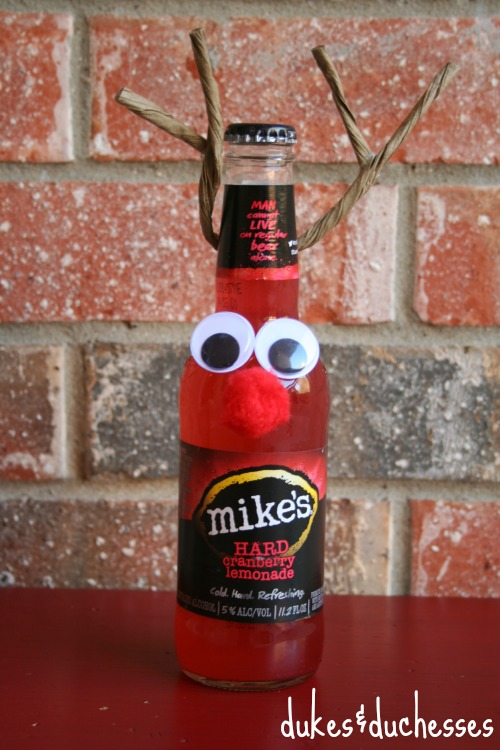 mike's hard lemonade reindeer