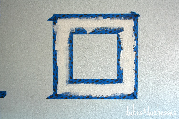 painted square
