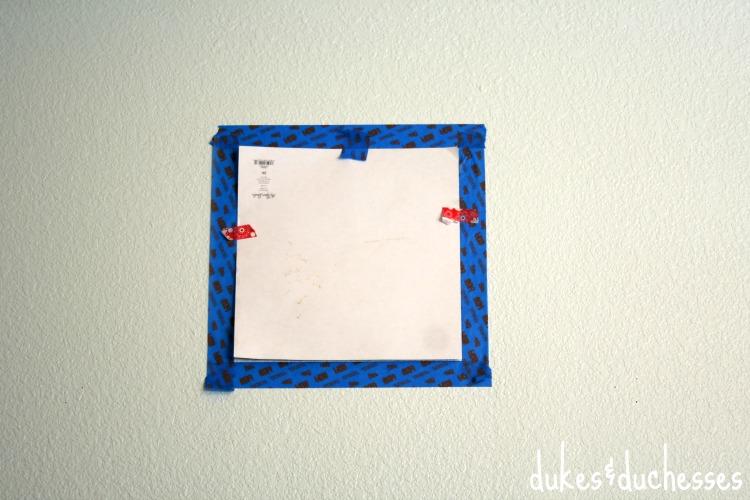 taping geometric design
