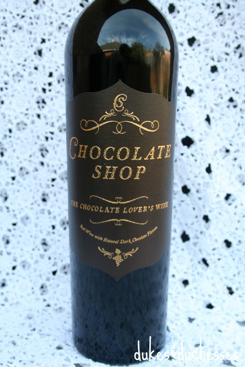 chocolate shop wine from Market Street