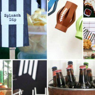 25 Football Party Ideas