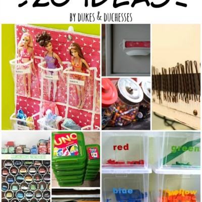 Getting Kids Organized {20 Ideas}