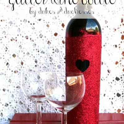 DIY Glitter Bottle