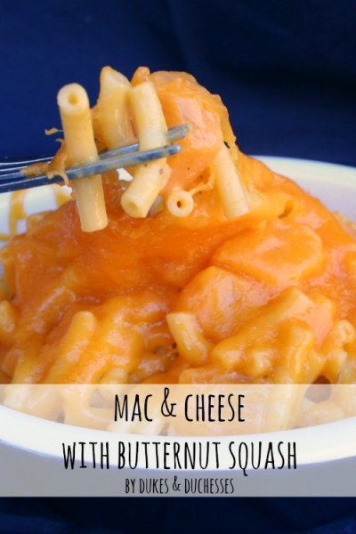 mac & cheese with butternut squash