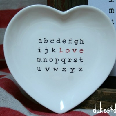 Typographical Love Printable