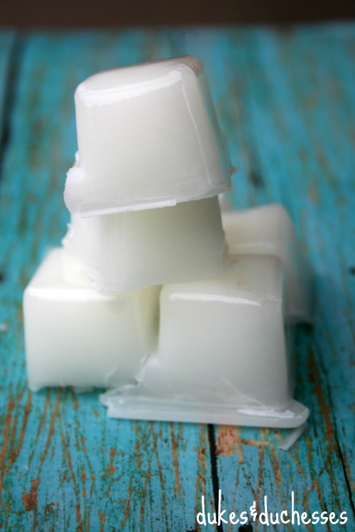 scented wax cubes for a wax warmer