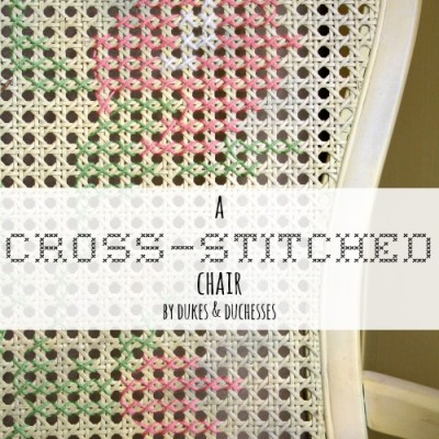 A Cross-Stitched Chair
