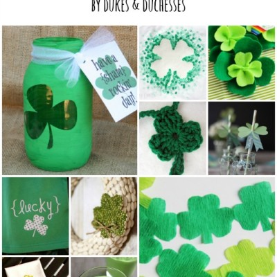 32 Shamrock Crafts and Ideas