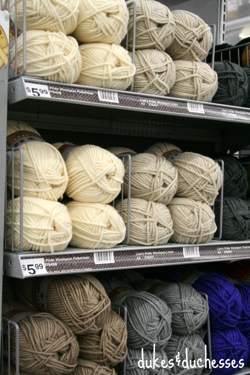 woolspun at michaels stores
