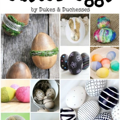 35+ Ways to Decorate Easter Eggs