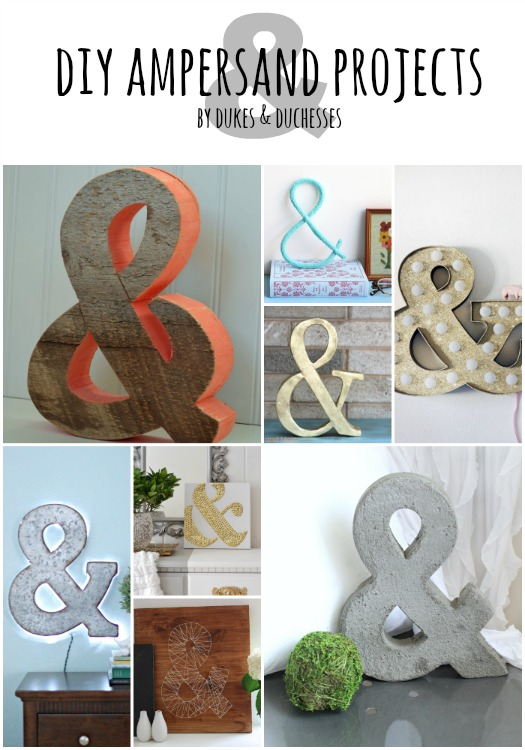 DIY-ampersand-projects