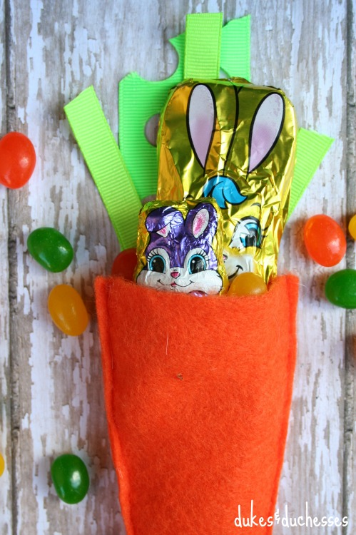 filled easter party favor