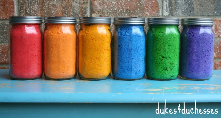 DIY Color Powder {for a Color Fight} - Dukes and Duchesses