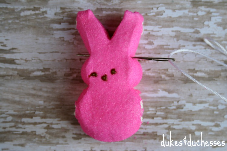 how to make a peeps garland