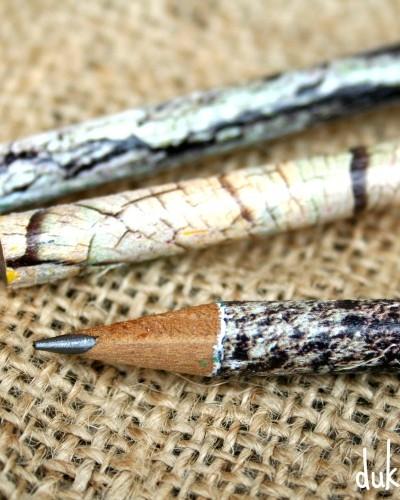 patterned pencils