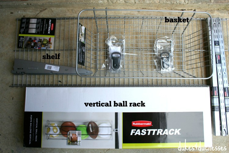 rubbermaid fasttrack supplies found online