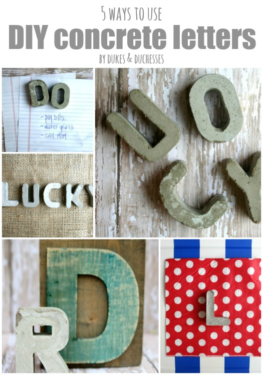 5-ways-to-use-DIY-concrete-letters