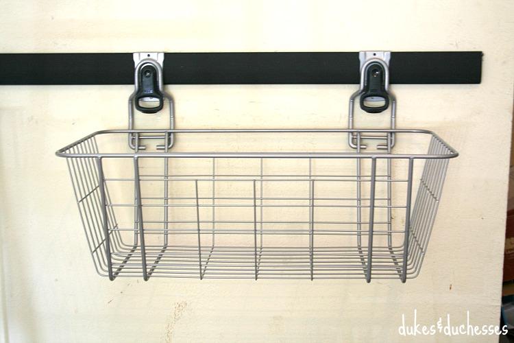 basket for rubbermaid fasttrack