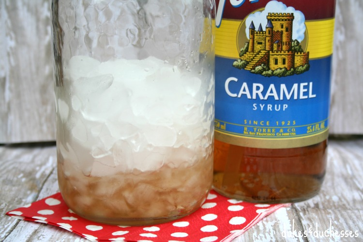 caramel syrup for italian soda