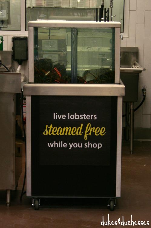 lobsters at kroger