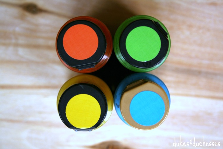 paint colors for coasters