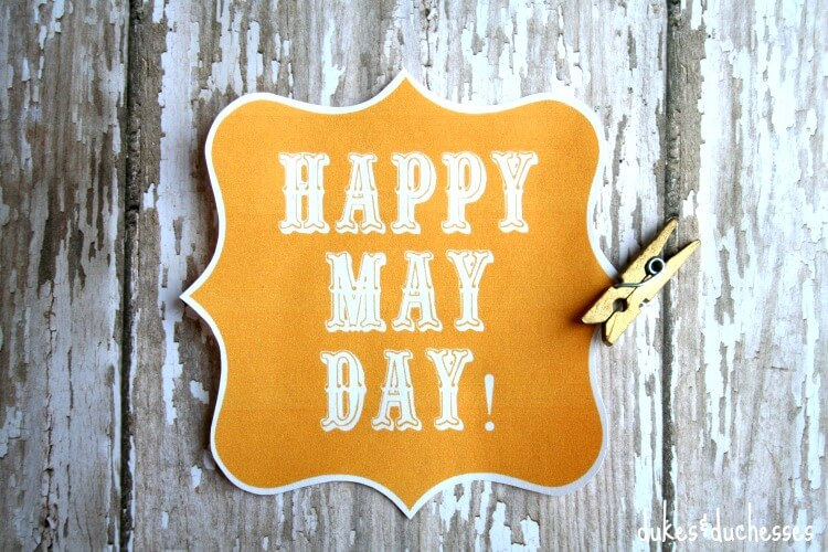 printable label for may day basket