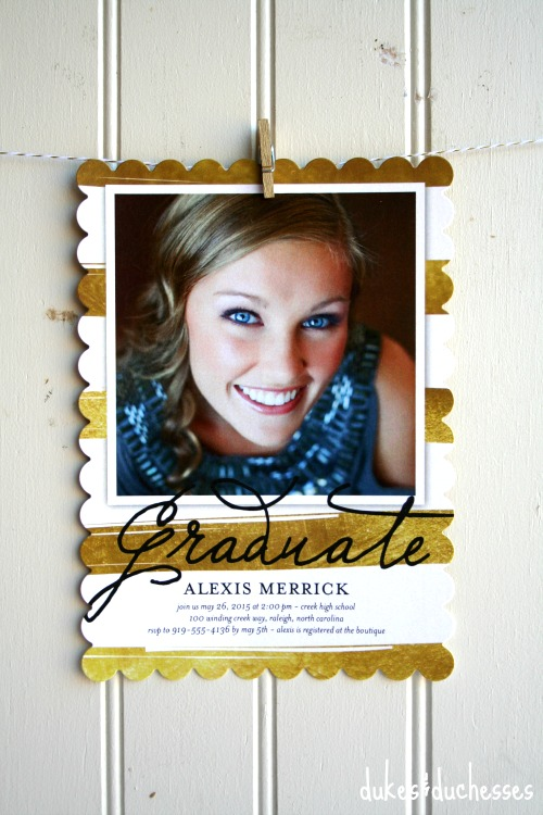 shutterfly graduation announcement
