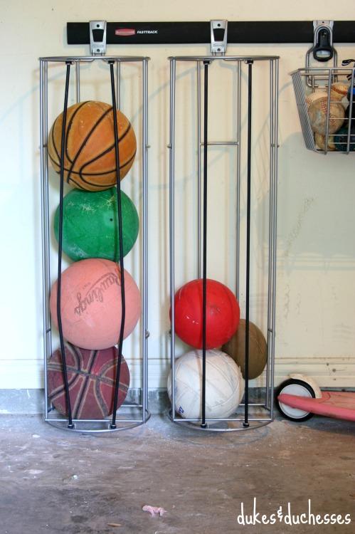 vertical ball holder rubbermaid