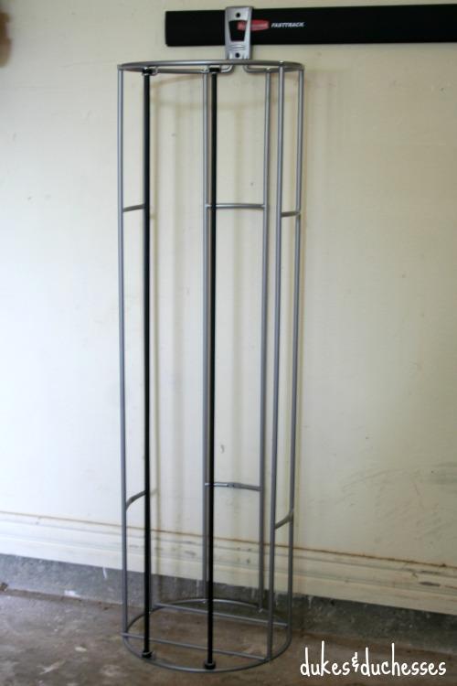 vertical ball rack
