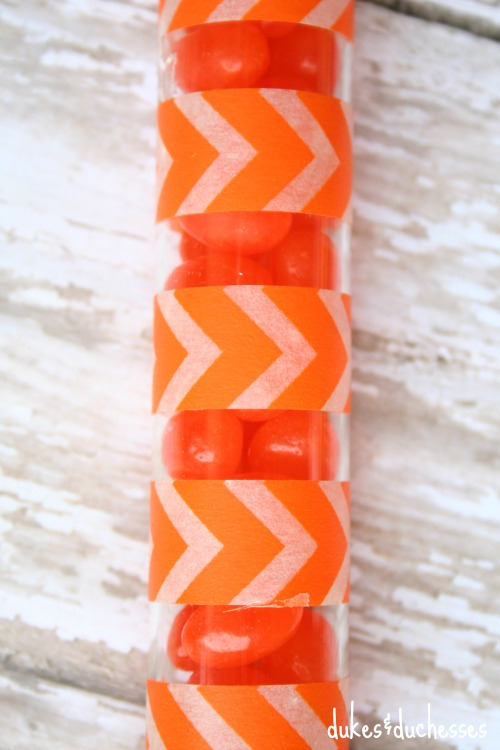 washi tape carrot