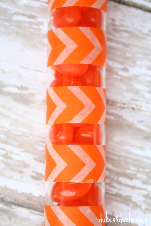 washi tape carrot