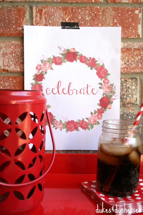 celebrate printable for any occasion