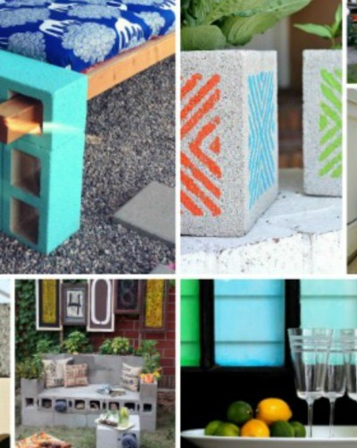 clever ways to use cinder blocks visual