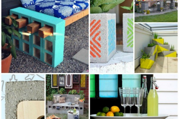 15+ Clever Ways to Use Cinder Blocks