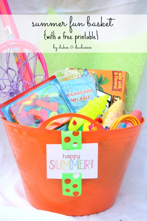 summer fun basket