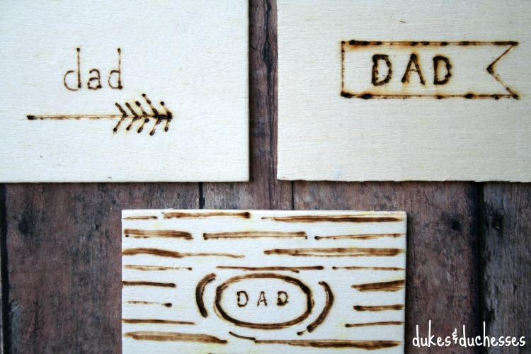 Wood Burned Gift Tags