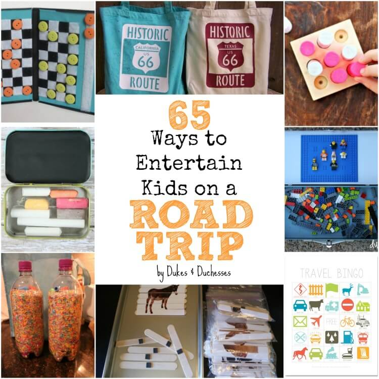 65 ways to entertain kids on a road trip