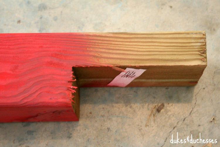 bottom of deck post