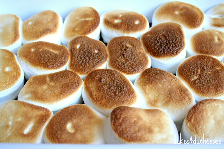 broiled marshmallows for s'mores